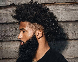 Black man with losts of beard