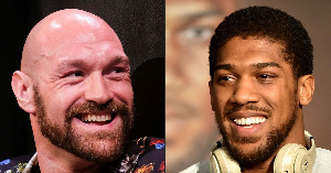 While Fury has his WBC title on the line, Joshua currently holds the IBF, WBA and WBO belts
