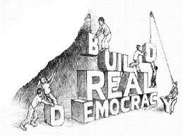 File photo: Building democracy
