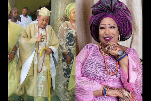 The Alaafin of Oyo, his first wife