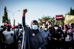 Aisha Yesufu is a known face in the End SARS protest
