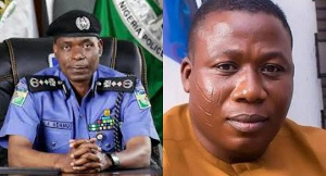 Inspector-General of Police, Mohammed Adamu and Sunday Igboho