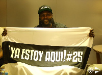 Adebayor joined Olimpia on a free transfer