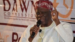 Prof Banji Akintoye, Leader of the Umbrella Body of Yoruba Self-Determination Groups