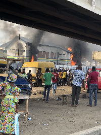 This comes after Gov. Sanwo-Olu announced a 24-hour curfew effective 4 pm today