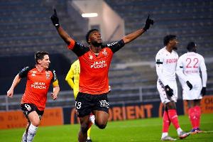 Nigerian striker Terem Moffi