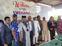 The officials were sworn in by Olugboyega Osiloya, a legal practitioner