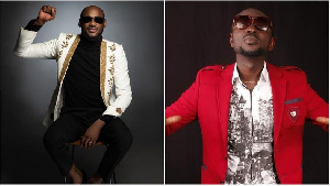 Veteran Nigerian musicians, 2Baba and Blackface