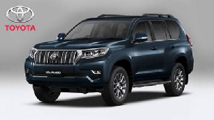 Two Toyota Prado SUVs were sold by officials of the Lake Chad Research Institute, in Maiduguri