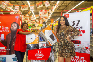 The four winners had purchased Itel A37 smartphones sometime in April