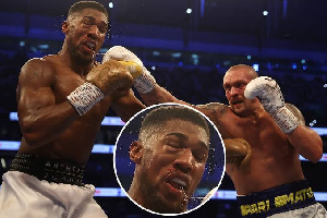 Anthony Joshua lost a fight against Oleksandr Usyk