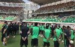 Super Eagles return to Teslim Balogun stadium after 10 years
