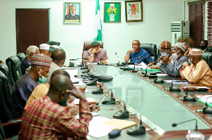 ASUU, FG in a meeting