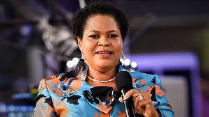 The late T.B Joshua's wife, Evelyn