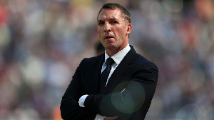 Leicester City coach Brendan Rodgers