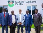 Engr. Femi Akintunde, Dr Babafemi Olusegun, Kunle Omidiora and Pastor Ituah Ighodalo