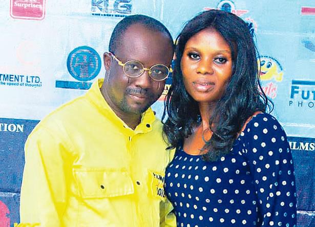 Abiola Paul Adesina (left)