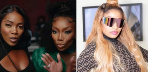 Tiwa Savage, Brandy and Nicki Minaj