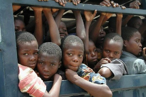 File photo: Human trafficking in Nigeria