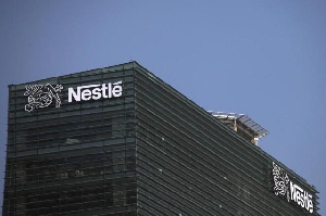 File photo: Nestle logo