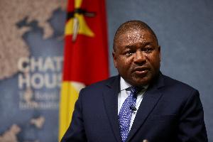 Mozambican President Filipe Nyusi | Wikimedia