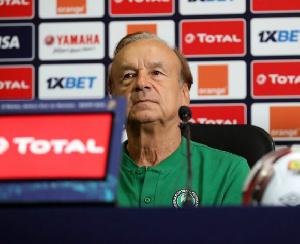Super Eagles coach, Gernot Rohr