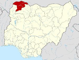 Sokoto state map