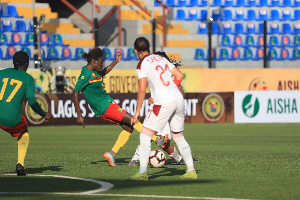 Ghana's Black Queens take on the Indomitable Lionesses of Cameroon