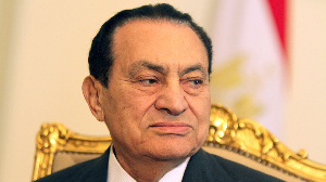 Late Egyptian president, Hosni Mubarak