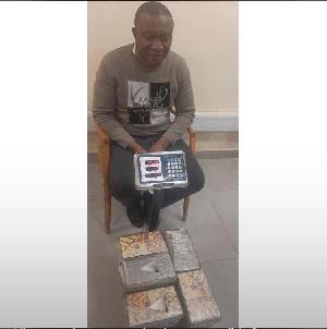 Brazilian-based Nigerian drug kingpin, Ejiofor Felix Enwereaku has been arrested on May 14