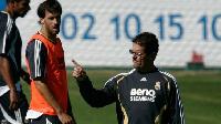 Ruud van Nistelrooy and Fabio Capello