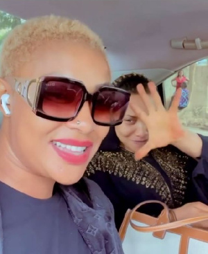 Angela Okorie and Tonto Dikeh