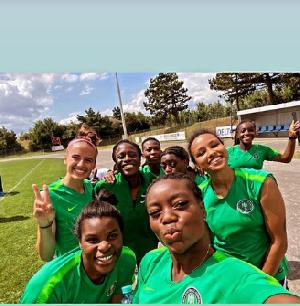 The Nigerian Women's national team