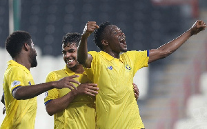 Ahmed Musa playing for Al Nassr