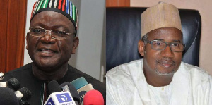 Benue State Governor, Samuel Ortom and Senator Bala Mohammed