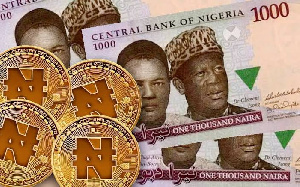 One e-naira will be equal to one fiat naira