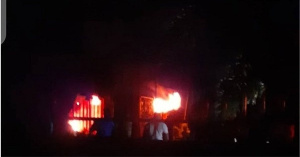 The fire that gutted INEC office in Ondo state was caused by faulty electrical connection
