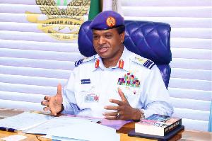 Chief of the Air Staff Air Marshal Sadique Abubakar