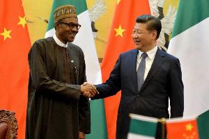 President Muhammadu Buhari and President Xi