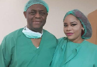 Femi Fani-Kayode and his ex-wife, Precious Chikwendu
