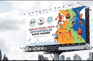 The NUGA games ad