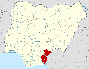 Cross River state map