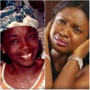 Actress Omoni Oboli mourns her mother
