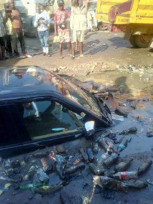 Scene of the accident