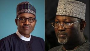 President Muhammadu Buhari and Professor Attahiru Jega