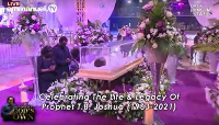 Prophet T.B Joshua lying in state at the SCOAN