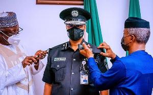 Mr. Usman Alkali Baba was a Deputy Inspector-General, DIG of Police