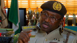 Comptroller General of the Nigeria Immigration Service, Muhammad Babandede