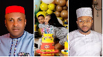 Good you trained your son but he'll ask for his dad one day - Man to Tonto Dikeh