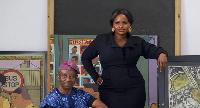 Jade Osiberu and veteran filmmaker, Tunde Kelani